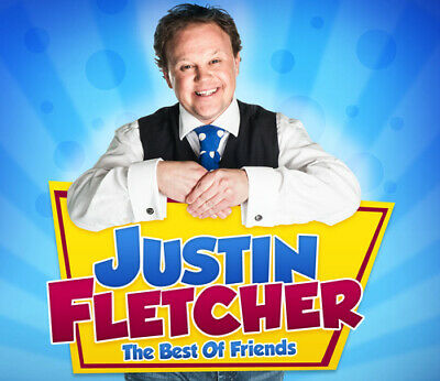 Justin Fletcher : The Best Of Friends CD (2013) Expertly Refurbished Product • 2.33£