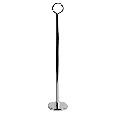 £28.99 • Buy Table Number Holders Card Place Name Menu Photo Holder Numbers 30cm (12 ) X12