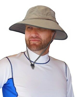 $21.88 • Buy Sun Protection Zone Extreme Outdoor Fishing Travel Wide Booney Hat Cap UPF 50+
