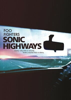 £9.98 • Buy Foo Fighters: Sonic Highways DVD (2015) Dave Grohl Cert E 4 Discs Amazing Value