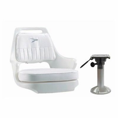 $ CDN374.67 • Buy Wise Seat Package #4 Pilot Seat Chair WD015 Adjustable Pedestal WP23-15-374 Boat