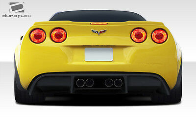 $475 • Buy 05-13 Chevrolet Corvette C6 Duraflex GT500 Rear Diffuser 108410