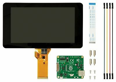 AU127.95 • Buy Raspberry Pi 4/3 7  LCD Screen TFT 10 Finger Touch Screen Official Pi Foundation