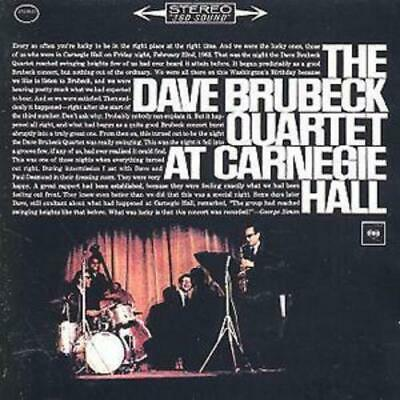 £3.23 • Buy The Dave Brubeck Quartet : At Carnegie Hall CD 2 Discs (2001) Quality Guaranteed