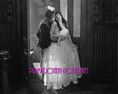 $13.49 • Buy MABEL NORMAND 8x10 Lab Photo 1910s Sexy Hoop Lace Skirt  Handsome Man Portrait
