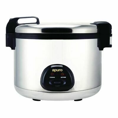 AU386.56 • Buy Rice Cooker / Steamer Large 9L Dry - 20L Cooked, 15Amp Commercial Apuro