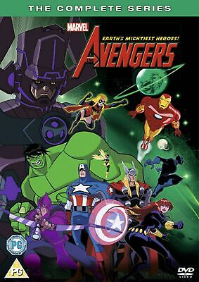 The Avengers - Earth's Mightiest Heroes: The Complete Series (Box Set) [DVD] • 7.99£