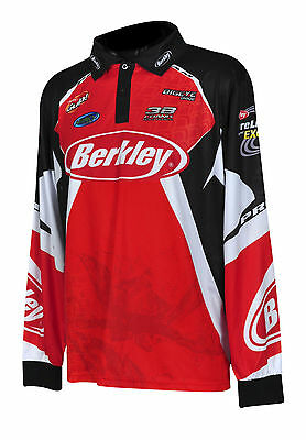 AU37.99 • Buy Berkley 2014 Tournament Pro Fishing Shirt BRAND NEW WITH TAGS All Sizes