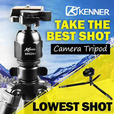 AU49.95 • Buy Kenner Professional Camera Tripod Stand DSLR Mount Ball Head Sony Nikon Canon