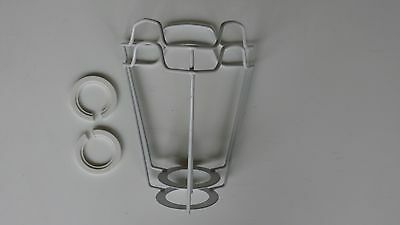 2 X 5  E S..lamp Shade Frame Carriers ..with 2 Free Reducers/adaptors  • 14.49£