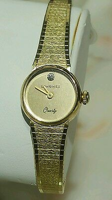 $ CDN299 • Buy Vintage Longine 10k RGP Ladies Watch