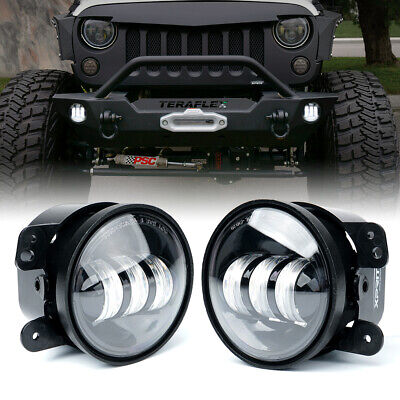 AU51.90 • Buy Xprite 4 Inch Fog Lights Assembly For 07-18 Jeep Wrangler JK White LED Driving