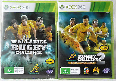 AU29.95 • Buy Wallabies Rugby Challenge And Rugby Challenge 2 Microsoft Xbox 360