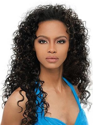 $19.96 • Buy Amber - Outre Quick Weave Synthetic Hair Half Wig