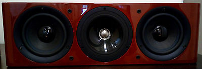 £2065.32 • Buy Kef Reference Series 202c Centre Channel Speaker - High Gloss Cherry - Ex Demo