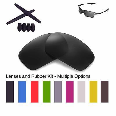 f42df28c7f Walleva Lenses And Rubber Kit For Oakley X Squared - Multiple Options •  22.99