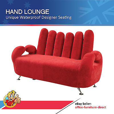 AU1497 • Buy Hand Lounge Couch Adult Sized Finger Seat Designer Furniture Novelty 2 Seater