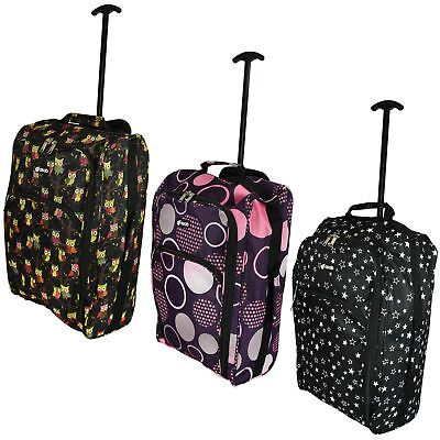 £13.95 • Buy Cabin Hand Luggage Trolley Bag Small Travel Flight Suitcase Holdall Wheeled
