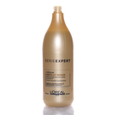L'oreal Serie Expert Absolut Repair Lipidium Shampoo 50.7oz/1500ml • 53.53£