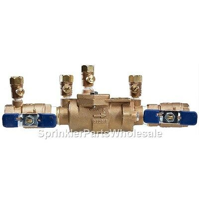 $138.80 • Buy Febco 1/2  850-QT DC Double Check Valve Backflow Preventer 1111 DCA 850 850QT
