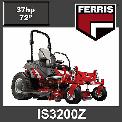 AU21499 • Buy Ferris IS3200Z Zero Turn Mower - 37hp Briggs Vanguard BigBlock Engine, 72  Cut