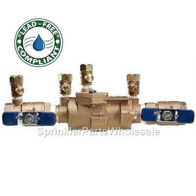 $479.65 • Buy Febco 2  LF850-QT DC Lead Free Double Check Valve Backflow Preventer 0683043