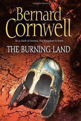 The Warrior Chronicles (5) - The Burning Land (Alfred The Great 5) By Bernard C • 3.52£