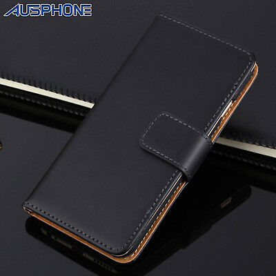 AU7.99 • Buy Genuine LEATHER Wallet Flip Case Stand Cover For Apple IPhone 12 Mini 11 Pro Max