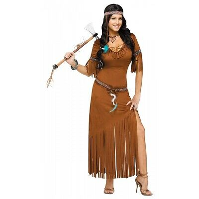 Adult Pocahontas Costume Compare Prices On Dealsan Com