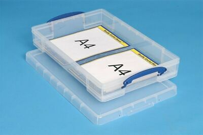 Really Useful 10 Litre Boxes A3 Paper Storage Box Drip Cakes Tray • 7.80£