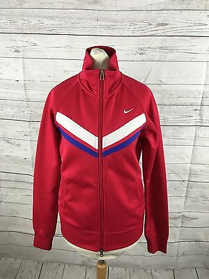 Women's NIKE Track Top - UK8/10 - Pink - Great Condition • 16.99£