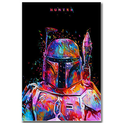 Star Wars Poster Art Silk Fabric Movie Poster 13x20inches J525