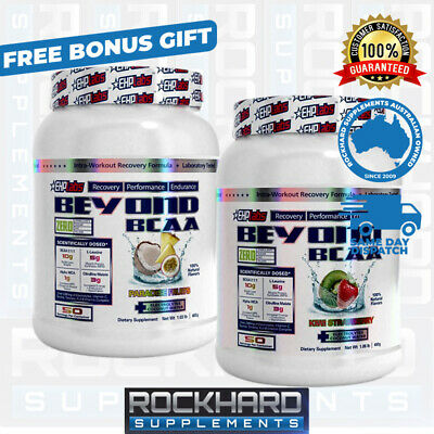AU98 • Buy EHPLABS Beyond BCAA Twin Pack - Amino Acids EHP Labs Recovery 100 Serves