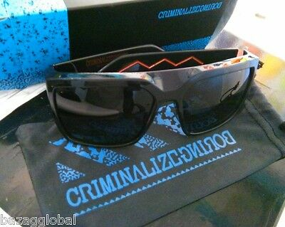£51.32 • Buy CriminalizeBoring CZB Sunglasses #16 Black Grey Gold Made In Italy Carl Zeiss