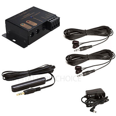 £15.50 • Buy Hidden IR Infrared Remote Control Repeater Extender 2 Emitters 1 Receiver  Kit