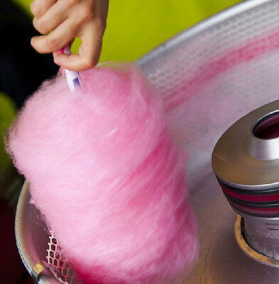 £8.95 • Buy 1KG Strawberry  Candy Floss Sugar READY TO USE IN YOUR MACHINE  Free Sticks