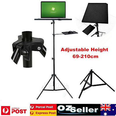 AU58.04 • Buy Projector Tripod Stand Bracket Adjustable Floor Laptop Stand Holder With Tray AU
