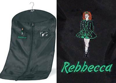$18.44 • Buy Personalised Irish / Celtic Dance Garment Costume Bag