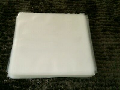 AU22 • Buy 100 New Premium Thick Lp / 12  Plastic Outer Record Cover Sleeves For Vinyl