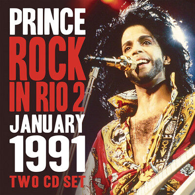 Prince : Rock In Rio 2: January 1991 CD 2 Discs (2016) ***NEW*** Amazing Value • 9.12£