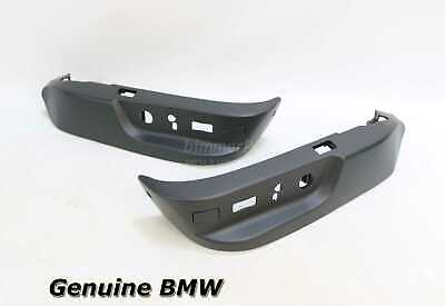 $104.99 • Buy New BMW E39 E38 Black Drivers Front Seat Switch Lower Trims Covers 1995-2003 OEM