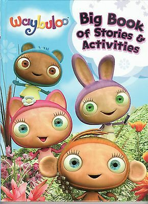 Young Children's  Waybuloo  Big Book Of Stories & Activities - Ideal Gift 3+ Yrs • 1.99£