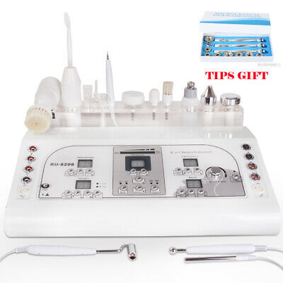 Pro 8in1 High Frequency Laser Mole Removal Ultrasonic Spray Galvanic Facial Care • 287.28£