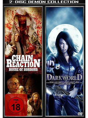 £2.18 • Buy 2 DISC DEMON COLLECTION - Chain Reaction/Darkworld [2 DVDs]  - Olaf Ittenbach