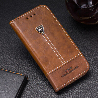 AU10.68 • Buy Luxury Flip Cover Stand Card Wallet PU Leather Case For Sony Xperia XA F3111