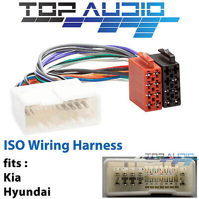 $ CDN17.24 • Buy Fit Kia Grand Carnival VQ ISO Wiring Harness Adaptor Cable Connector Lead Plug