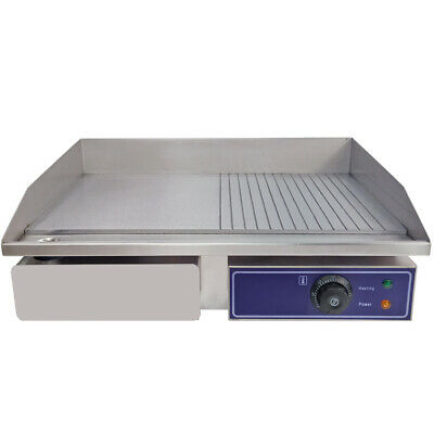 £119 • Buy Commercial Electric Griddle Countertop Large Hotplate BBQ Grill Egg Fryer Bacon
