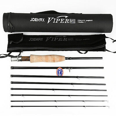 $135 • Buy  9 6/7# -7+1Sections Travel Fly Fishing Rod With Carbon Fiber & Ultra Light