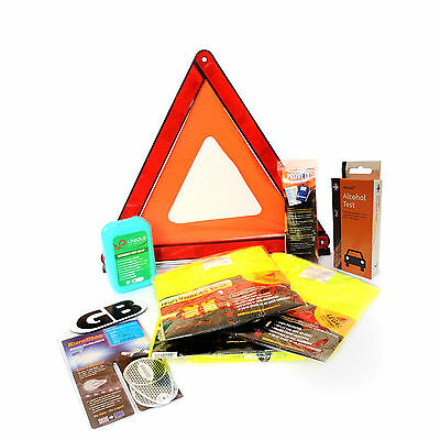 £27.99 • Buy French Car Travel Kit - Family Pack For France (First Aid Kit, Triangle + More)