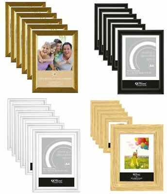 £15.09 • Buy 6 X Or 12 X A4 Certificate Photo Picture Frames Free Standing Wall Mountable